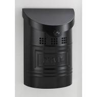 Ecco Modern Style Mailbox- Satin Black