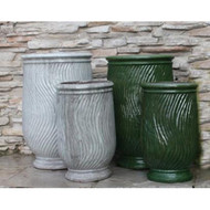 Anamese Chenelle Footed Urn Set of 2