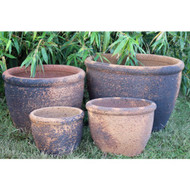 Anamese Roll Top Planter Set of 4