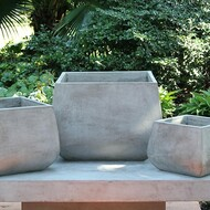 Anamese Oslo Short Square Planters Set of 3
