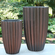 Anamese Fluted Vase with Liner