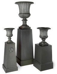 Capital Garden Fluted Urn