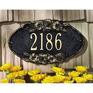 Pansy Oval Plaque main image