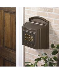Capital Wall Mailbox Package main image