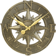 Compass Rose Clock main image