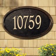 Concord Oval Estate Plaque main image