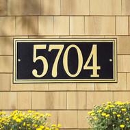 Double Line Estate Plaque main image