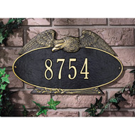Eagle Oval Standard Plaque main image