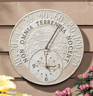 Fossil Celestial Thermometer Clock main image