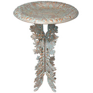 Oakleaf Birdbath & Pedestal main image
