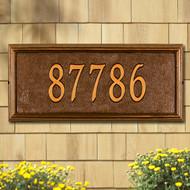 Springfield Rectangle Estate Plaque main image
