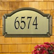 Williamsburg Artisan Metal Estate Plaque main image