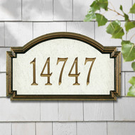 Unique Personalized One Line Address Plaques Topography Home