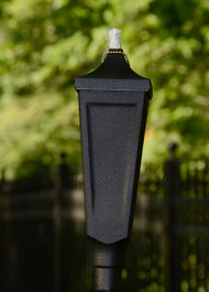 Classic Pole Torch Textured Black image 1