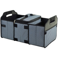 Trunk Organizer and Cooler Set - Houndstooth image 1