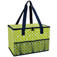 Collapsible Home & Trunk Organizer - Trellis Green image 1