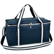 Folding 72 Can Cooler - Navy image 1
