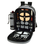 Two Person Picnic Backpack - Houndstooth image 1