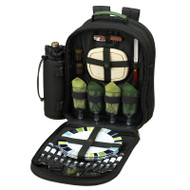 Four Person Picnic Backpack - Forest Green image 1
