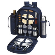 Two Person Coffee Backpack - Navy image 1