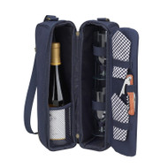 Sunset Wine carrier - Navy image 1