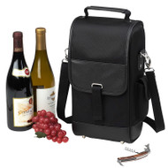 Two Bottle Carrier - Black image 1