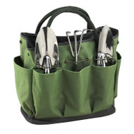 Garden Tote & Tools Set - Forest Green image 1