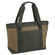 Large Insulated Cooler Tote - Forest Green image 1