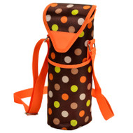 Single Bottle Cooler Tote -  Julia Dot image 1