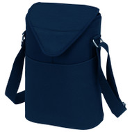 Two Bottle Cooler Tote - Navy image 1
