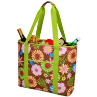 Extra Large Insulated Cooler Tote - Floral image 1