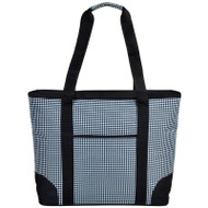 Extra Large Insulated Cooler Tote - Houndstooth image 1