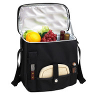Wine & Cheese Cooler Tote - Black image 1