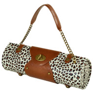 Wine Carrier & Purse - Snow Leopard image 1