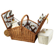 Huntsman Picnic Basket for Four with Blanket - Santa Cruz image 1