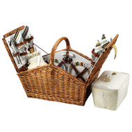 Huntsman Picnic Basket for Four - Santa Cruz image 1