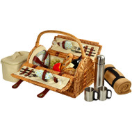 Sussex Picnic Bskt for 2 https://cdn3.bigcommerce.com/s-nzzxy311bx/product_images//w/Blkt & Coffee - Gazebo image 1