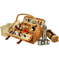 Sussex Picnic Bskt for 2 https://cdn3.bigcommerce.com/s-nzzxy311bx/product_images//w/Blkt & Coffee - Santa Cruz image 1
