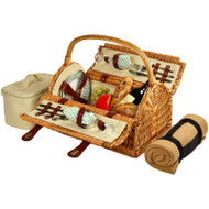 Sussex Picnic Basket for Two with Blanket - Gazebo image 1