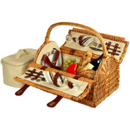 Sussex Picnic Basket for Two - Santa Cruz image 1
