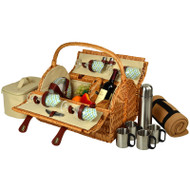 Yorkshire Picnic Bskt for 4 https://cdn3.bigcommerce.com/s-nzzxy311bx/product_images//w/Blkt & Coffee - Gazebo image 1