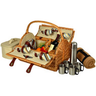 Yorkshire Picnic Bskt for 4 https://cdn3.bigcommerce.com/s-nzzxy311bx/product_images//w/Blkt & Coffee - Santa Cruz image 1