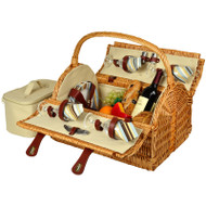 Yorkshire Picnic Basket for Four - Santa Cruz image 1