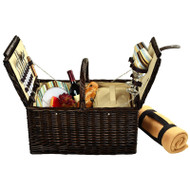 Surrey Picnic Basket for Two with Blanket - Santa Cruz image 1