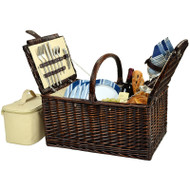 Buckingham Picnic Basket for Four - Aegean image 1