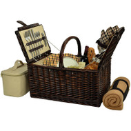 Buckingham Basket for Four with Blanket - London image 1