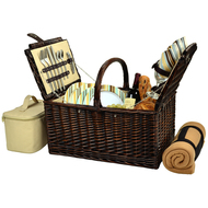 Buckingham Basket for Four with Blanket - Santa Cruz image 1