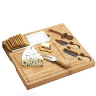Celtic Cheese Board set - Bamboo image 1