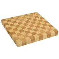 Checkered Chop Board - Bamboo image 1