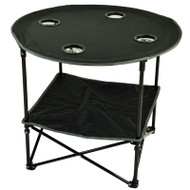Canvas Picnic Table - Black image 1